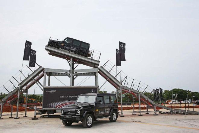 45度極限越野挑戰M.Benz SUV Off Road真功夫