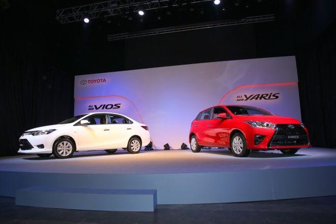 新引擎、CVT變速箱入替!小改款 Toyota Yaris、Vios
