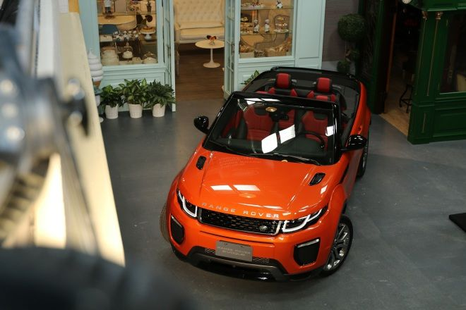 全球首部敞篷休旅 Land Rover Range Rover Evoque Convertible