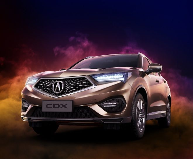 2016北京車展─豪華小型跨界力作Acura CDX