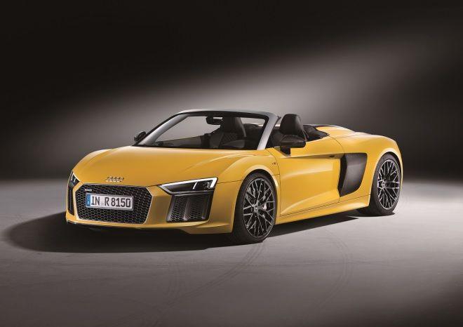 2016紐約車展10大精彩好車之一鋼鐵人不會飛  Audi R8 Spyder V10