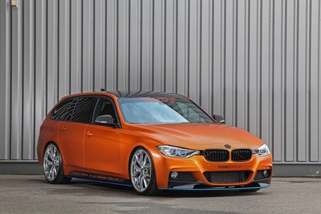 銅牆鐵壁 Tuningsuche BMW 328i Touring