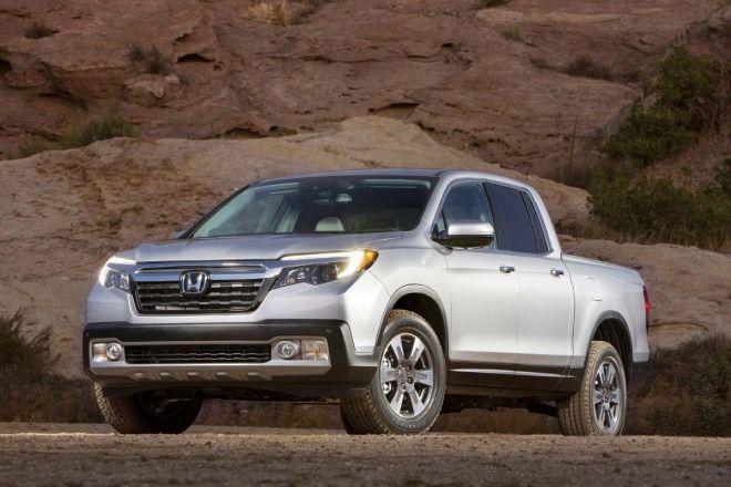 高實用性新貨卡Honda Ridgeline