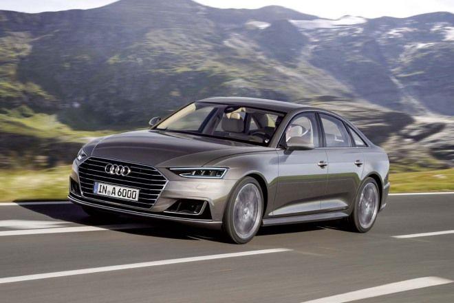 在尾燈放電影?Audi New A6