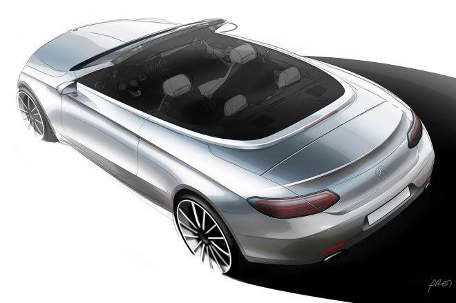 日內瓦車展預報-M.Benz C-Class Cabriolet