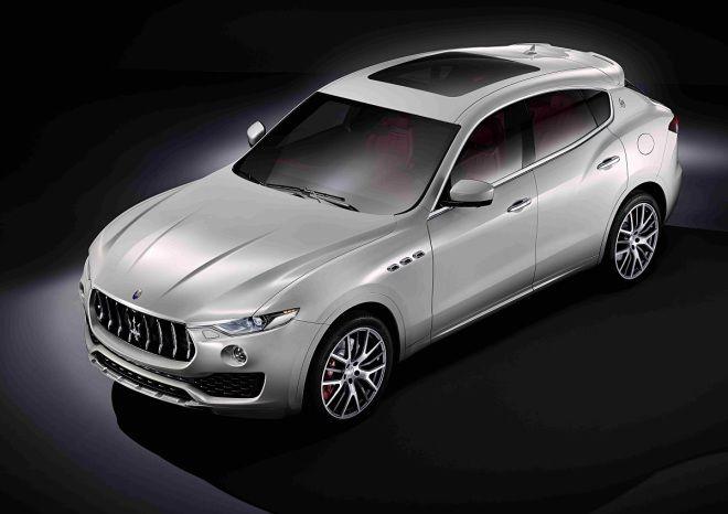 海神百年首款SUV現身!Maserati Levante
