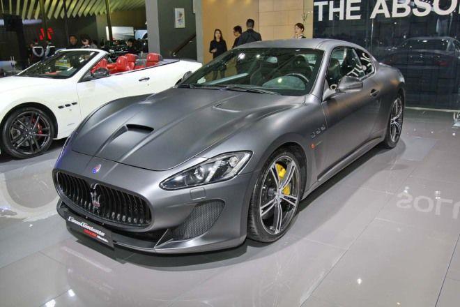暗夜戰神Maserati GranTurismo MC Stradale Trofeo Limited Edition