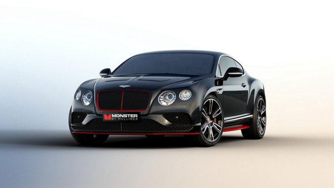 賓利魔聲聯合推出 Continental GT V8 S魔聲限量版