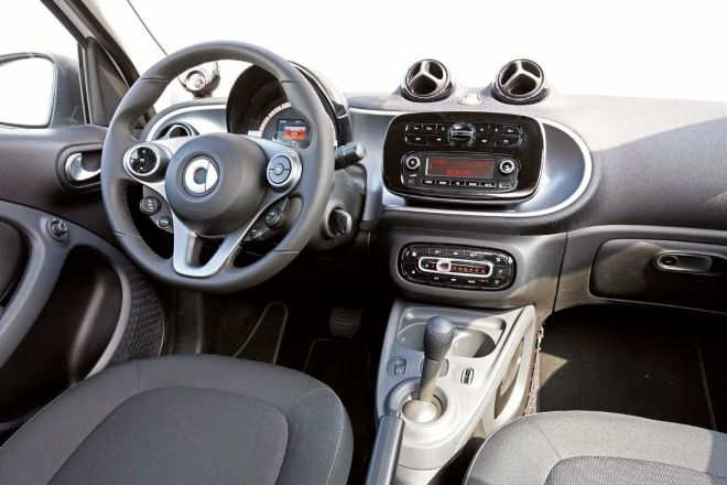 都會車的理想型態Smart Forfour