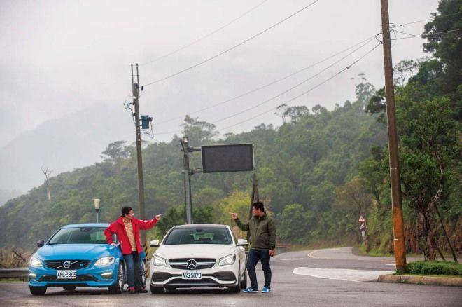 荊軻刺秦王Volvo V60 Polestar vs. Mercedes-AMG CLA 45 Shooting Brake