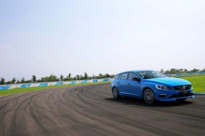 Volvo也有性能戰將 V60 Polestar前進大鵬灣