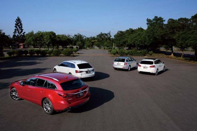 三百回合之後...集評part1-Mazda 6 Wagon vs. Skoda Superb Combi空間、配備篇