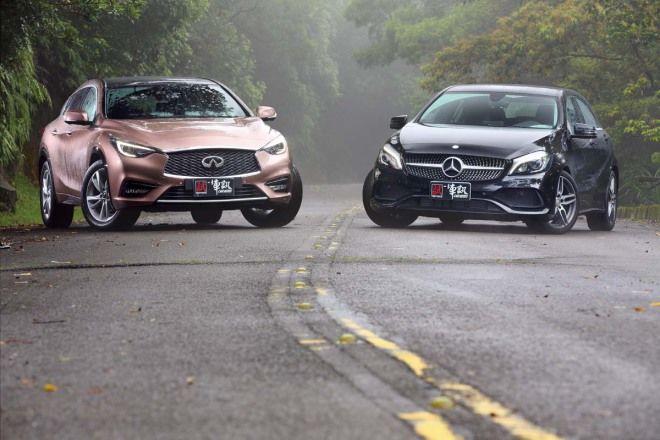 像不像 三分樣Infiniti Q30 1.6t vs. M.Benz A180 AMG Line