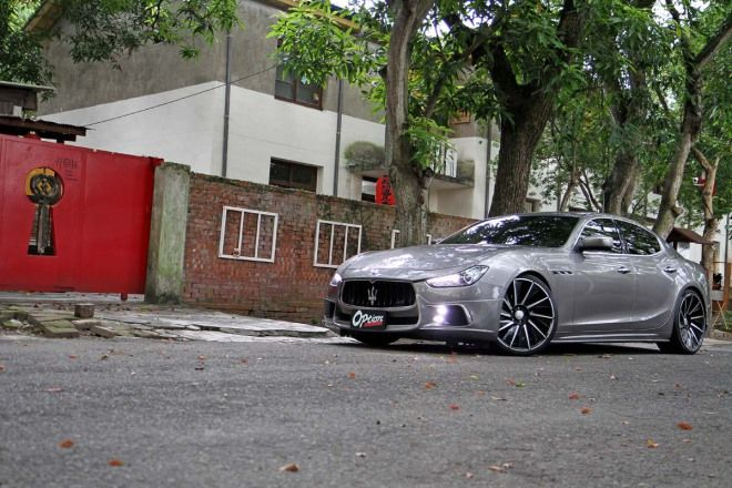 東瀛海神Wald Maserati Ghibli