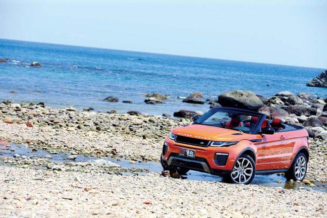 獨領風騷Land Rover Range Rover Evoque Convertible