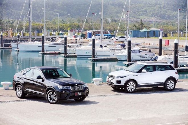 時尚 / 品味 / 個性BMW X4 xDrive35i vs. Land Rover Range Rover Evoque HSE