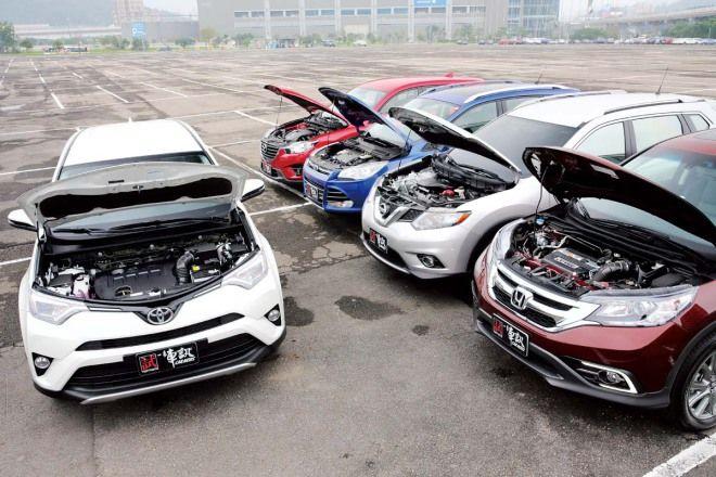 暢銷SUV爭山頭 持有成本Toyota RAV4最低廉