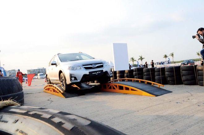 跨界越野魂Subaru小改款XV泰國體驗