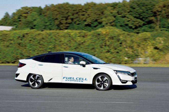 潔淨能源下一步 Honda Clarity Fuel Cell