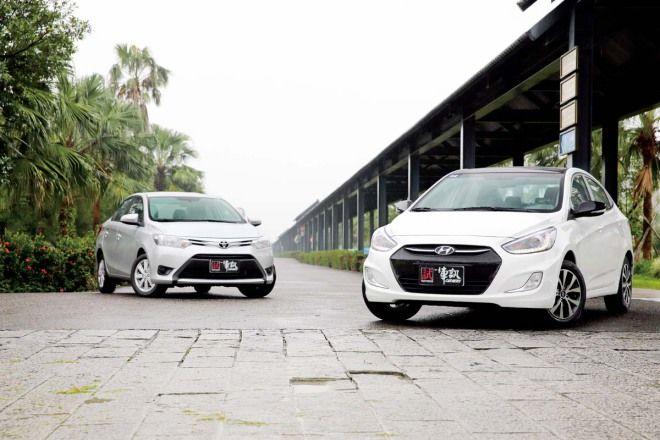平民四門之爭Hyundai Verna vs. Toyota Vios