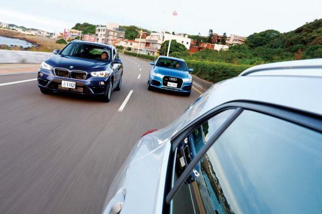 200萬跨界選擇動力操控篇 Audi Q3 vs. BMW X1 vs. M.Benz GLA