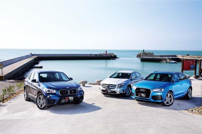 200萬跨界選擇市場篇 Audi Q3 vs. BMW X1 vs. M.Benz GLA