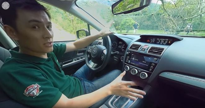 Subaru Levorg 1.6 GT-S 360度環景內裝介紹