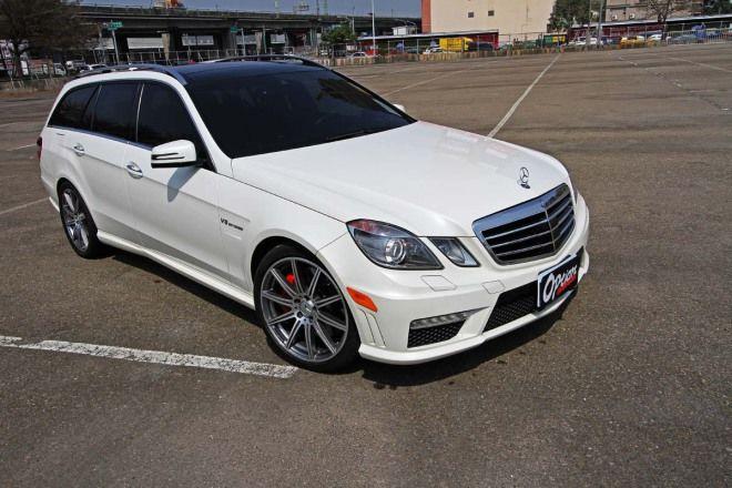 國外自購低調超跑殺手 M.Benz E63 Estate AMG