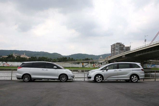 後座空間殘酷PK Toyota Previa vs. Honda Odyssey