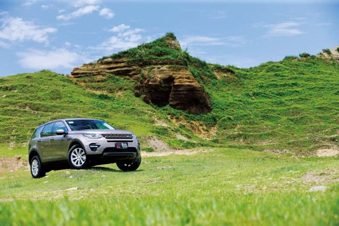 七小福冒險去Land Rover Discovery Sport 2.2D SE