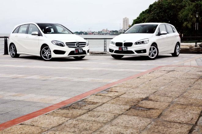 機能對決BMW 220i Active Tourer vs. M.Benz B200