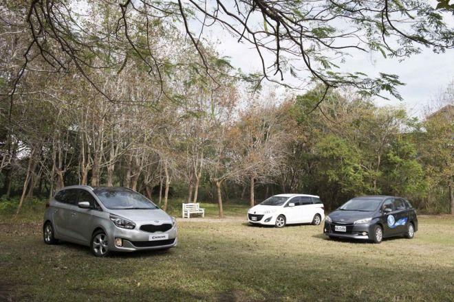 轎式休旅再闖關 Kia Carens vs. Toyota Wish / Mazda5