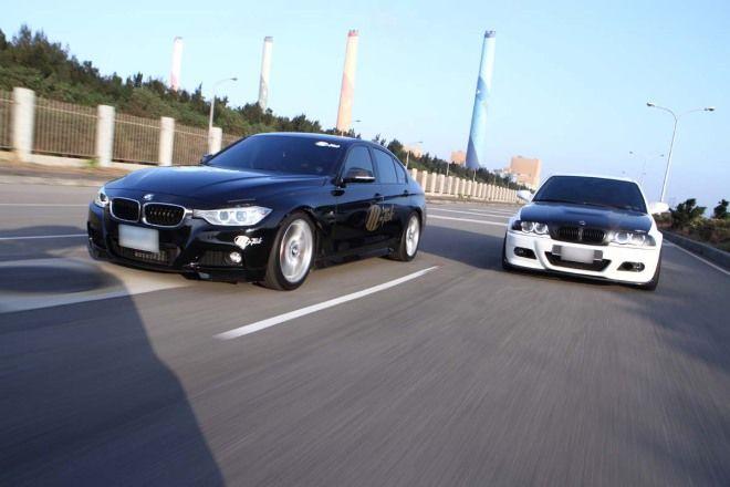 新舊捉對 渦輪直四勝NA直六 BMW F30 320i VS. E46 330i