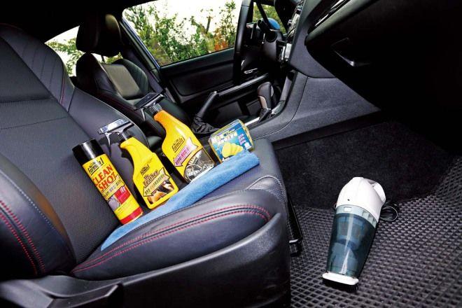 DIY愛車美容術-內裝乾淨心情好-保養除臭少不了