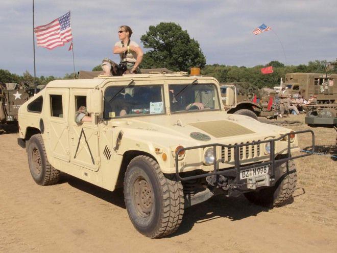 高機動性多用途輪式車輛-悍馬車