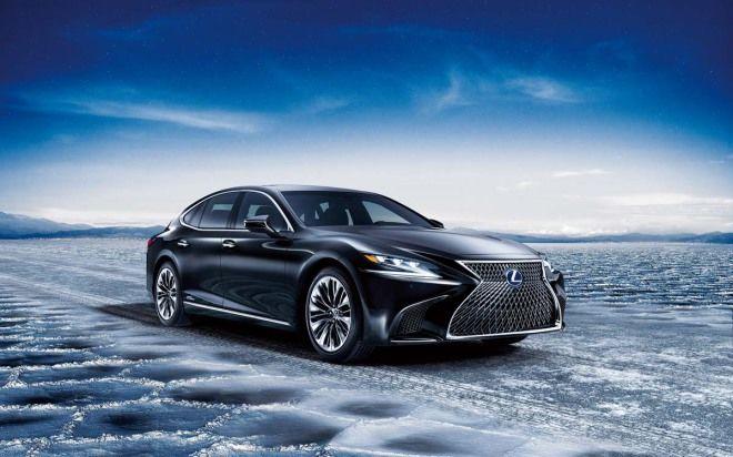 油電新巔峰 Lexus LS 500h