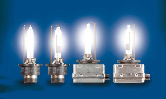 汽車6大科技-燈具,HID放電式氣體燈