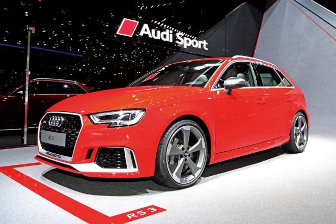 瞄準最強鋼砲Audi RS3 Sportback