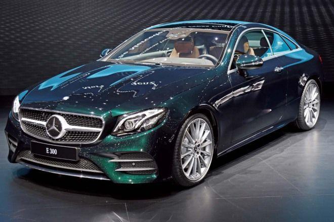 戰線齊備M.Benz E-Class Coupe