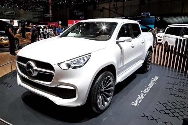 豪華載貨體驗M.Benz Concept X-Class
