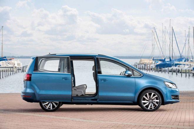 5+2大於7(18-14)VW Sharan標準三排乘坐空間比Touran的空間還更好
