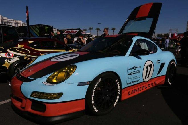 Mustang 5.0引擎植入Cayman GT單挑911