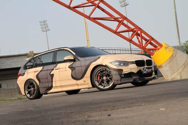迷彩風BMW F31沙漠風暴超吸睛