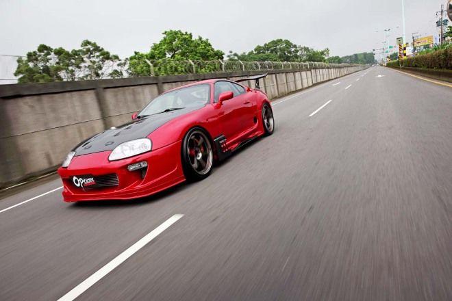 來自火焰山千匹牛魔王Toyota Supra (JZA80)
