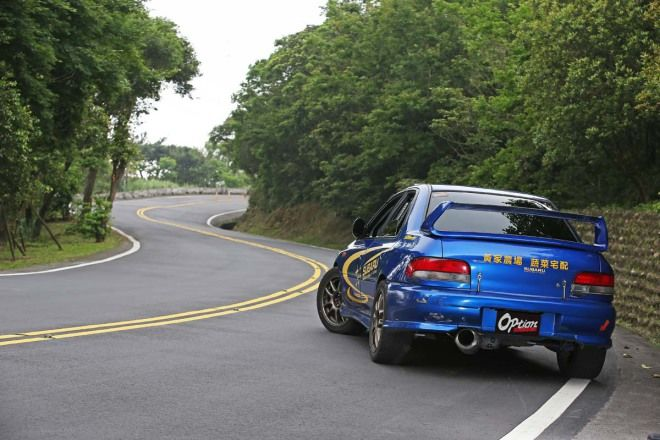 Subaru Impreza GC8開啟AWD奧義之王者