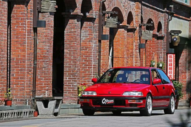 Honda Civic EF DXB16A雙凸引擎入替