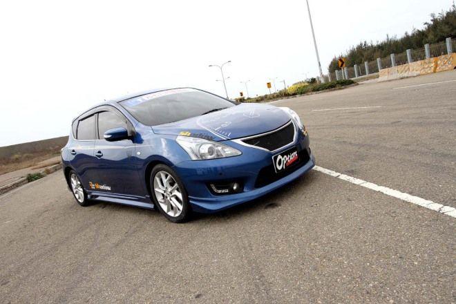 Nissan Big Tiida 1.6T    6.2秒破百的魅力!