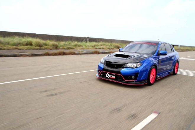 Subaru Impreza STI GVB 500匹+Varis寬體