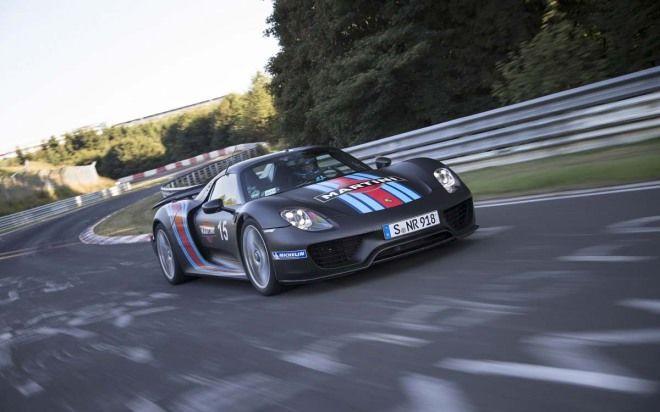 Porsche 918 Spyder 6分57.00秒