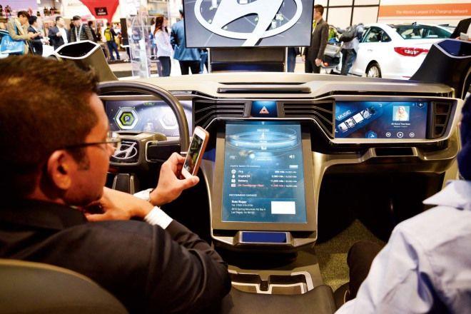 車鑰匙與手機的戰爭 CES 2016汽車科技大剖析
